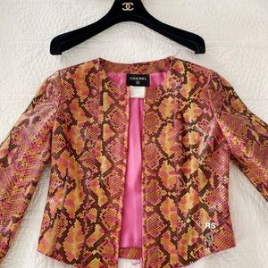 CHANEL vintage runway jacket